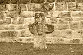 Wall With .penitence Cross
