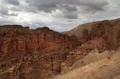 Mountainous Desert Of Arava