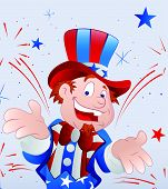 Cheerful Uncle Sam