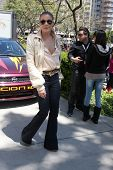 LOS ANGELES - APR 14:  LeAnn Rimes at the 2012 Toyota Pro/Celeb Race at Long Beach Grand Prix on Apr