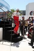 LOS ANGELES - APR 14:  Hill Harper at the 2012 Toyota Pro/Celeb Race at Long Beach Grand Prix on Apr