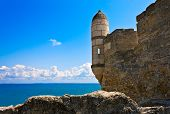 Ancient Turkish Fortress.
