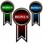Set From Three Icons A Bonus