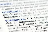Spanish word for education