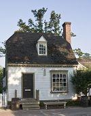 Colonial Shop In Williamsburg, Virginia