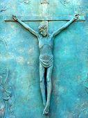 Copper Crucifix