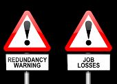 Job Losses Concept.