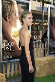 LOS ANGELES - APR 16: Taylor Schilling at the premiere of Warner Bros. Pictures' 'The Lucky One' at