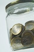 Jar And Coins