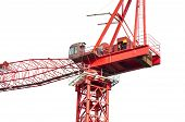 High crane close-up
