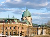 Budapest, Buda Castle is the historical castle and palace complex of the Hungarian kings in Buda, it