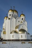 Church of the Nativity in the city of Krasnoyarsk