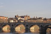The Old Bridge In Toulouse.