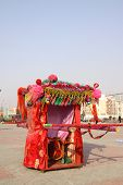 China Big Sedan Chair