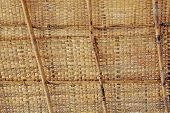 Bamboo Shack Roof Weave