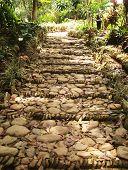 Pebble Stairway