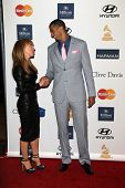 LOS ANGELES - FEB 9:  Kathy Griffin, Colin Kaepernick arrives at the Clive Davis 2013 Pre-GRAMMY Gal