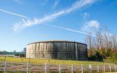 Round Concrete Water Tank