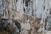 The Marble Quarries - Apuan Alps Carrara Tuscany Italy