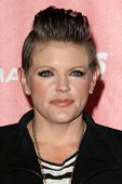 LOS ANGELES - FEB 8:  Natalie Maines arrives at the 2013 MusiCares Person Of The Year Gala Honoring