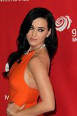 LOS ANGELES - FEB 8:  Katy Perry arrives at the 2013 MusiCares Person Of The Year Gala Honoring Bruc