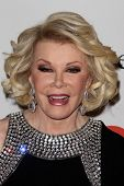 LOS ANGELES - FEB 9:  Joan Rivers arrives at the Clive Davis 2013 Pre-GRAMMY Gala at the Beverly Hil