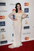 LOS ANGELES - FEB 9:  Katy Perry arrives at the Clive Davis 2013 Pre-GRAMMY Gala at the Beverly Hilton Hotel on February 9, 2013 in Beverly Hills, CA