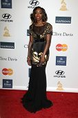 LOS ANGELES - FEB 9:  Estelle arrives at the Clive Davis 2013 Pre-GRAMMY Gala at the Beverly Hilton Hotel on February 9, 2013 in Beverly Hills, CA