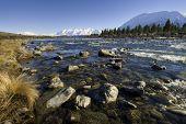 stock photo of mckenzie  - Ohau River - JPG