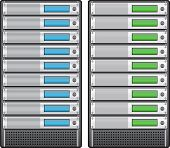 Servers In Installed In Rack