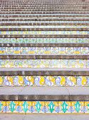 Ceramic Steps In Caltagirone, Sicily, Italy