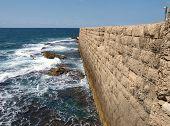 Sea Wall Acre Akko Israel