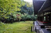 Japanese Garden In Koto-in Temple- Kyoto, Japan