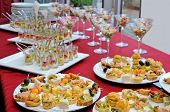 stock photo of buffet catering  - Catering - JPG