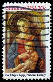 Madonna And Child By Fra Filippo Lippi