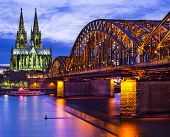foto of dom  - Cologne Cathedral in Cologne - JPG