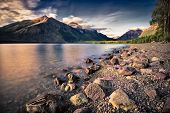 Lake Mcdonald Before Sunset
