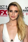 LOS ANGELES - OCT 7:  Emma Roberts at the