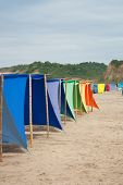 Colored Shade Tents
