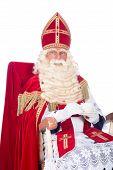 Sinterklaas On His Chair