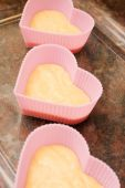 Valentine Heart Shaped Cup Cakes