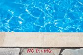 Poolside Warning