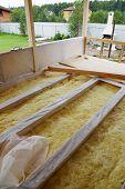 Wooden Floor With Insulation