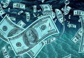 Fishing for 100 dollar bills
