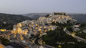 Ragusa Ibla in the evening