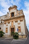 Church of St. Giovanni. San Vito dei Normanni. Puglia. Italy.