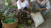 Burma. Cheroot Sellers
