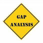Gap Analysis Sign