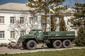 Belbek Military Base ?4515 In Crimea, Ukraine