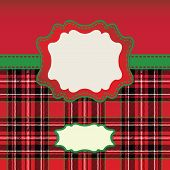 Men's Tartan Design Template